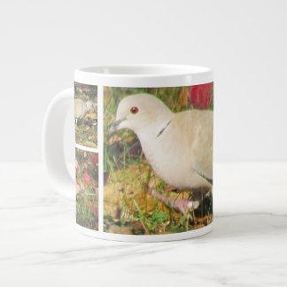 Autumn Dove 20 Oz Large Ceramic Coffee Mug