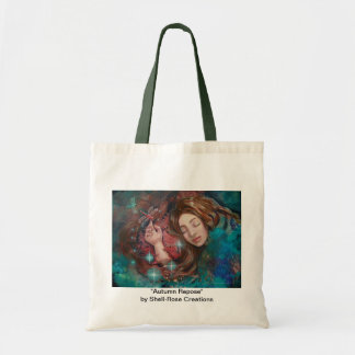 Autumn Dragonfly Dreaming Woman Tote bag