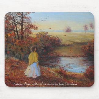 Autumn dream-waltz mouse pad