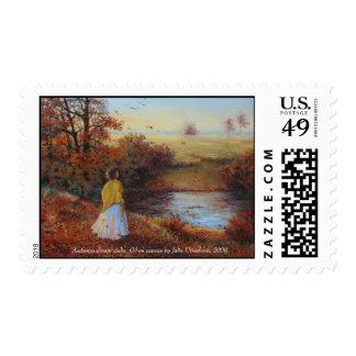 Autumn dream waltz. stamps