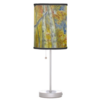 Autumn Dream Watercolor Desk Lamp