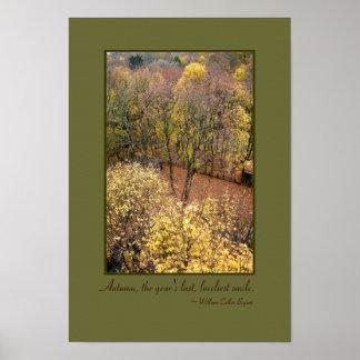 'Autumn Dreams' Quotables Poster