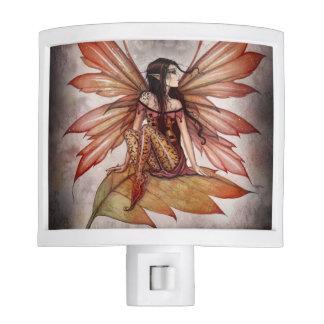Autumn Drifting Fairy Fantasy Art Night Light
