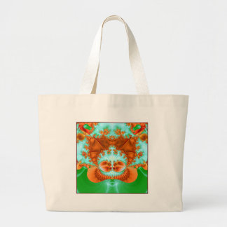 autumn druid large tote bag