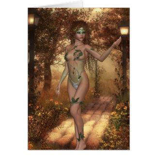 Autumn Dryad Card