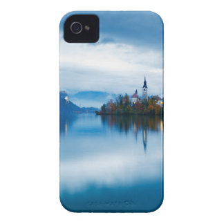 Autumn dusk at Lake Bled iPhone 4 Cover