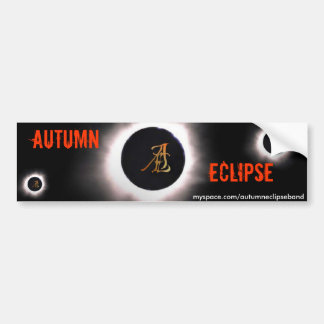 Autumn Eclipse Merch Bumper Sticker