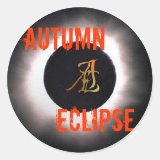 Autumn Eclipse Merch Classic Round Sticker