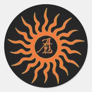 Autumn Eclipse Sticker