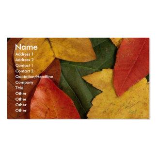 Autumn Ecstacy Business Card