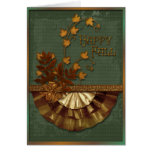Autumn Elements Greeting Cards