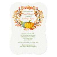 Autumn Elements Invitation