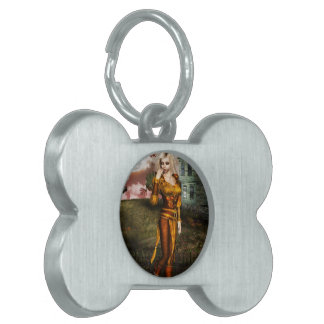 Autumn Elf Pet ID Tags