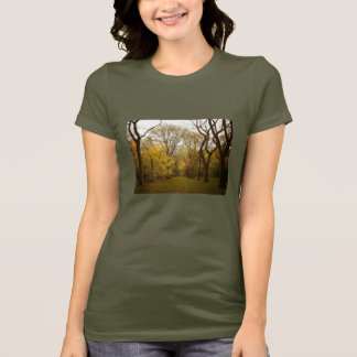 Autumn Elm Trees in Central Park, New York City T-Shirt