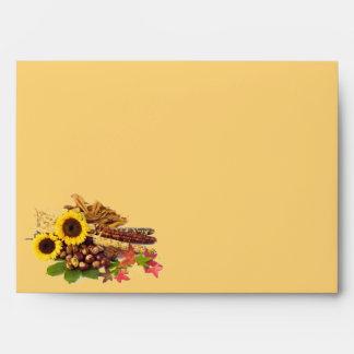 Autumn Envelope