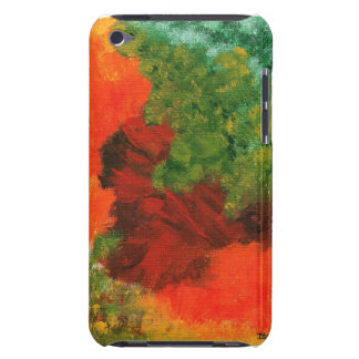 Autumn Equinox Abstract Painting for iPod 4th Gen Case-Mate iPod Touch Case