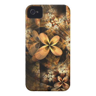 Autumn Equinox Flame Fractal iPhone 4 Cover