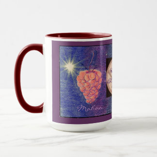 Autumn Equinox Mabon/Add Your Color Bkgd Pentacle Mug
