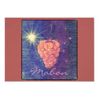 Autumn Equinox Mabon Change Background Color Card
