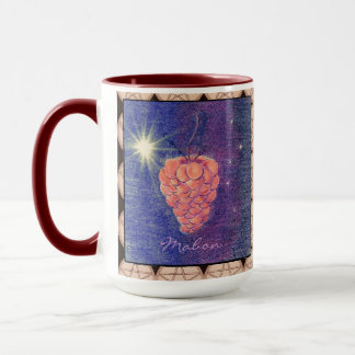 Autumn Equinox Mabon with Pentacles Mug