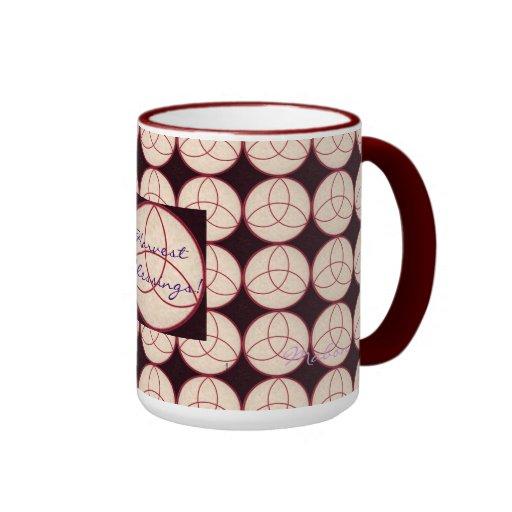 Autumn Equinox Mabon with Triquetra Ringer Mug