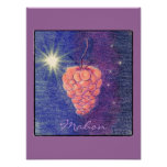 Autumn Equinox Mabon You Pick Background Color Posters