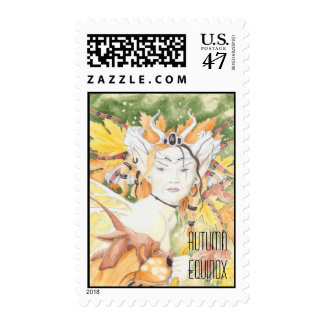 autumn equinox stamp