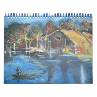 Autumn Evening Calendar