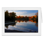 Autumn Evening Card