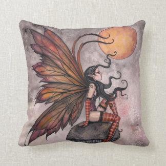 Autumn Faerie Fantasy Throw Pillow