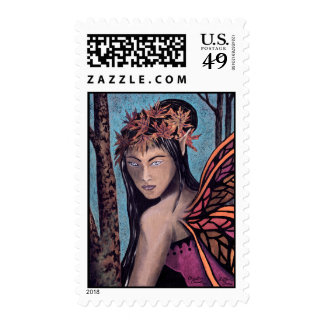 Autumn Faerie First Class Stamps