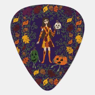 Autumn Faerie Guitar Pick