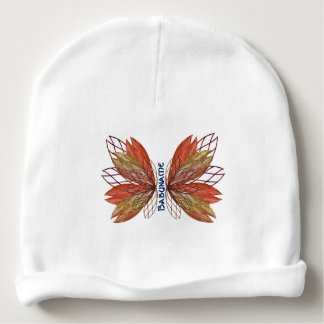 Autumn Faery Butterfly Wings Personalized Baby Beanie