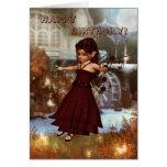 Autumn Fairy Card