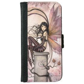 Autumn Fairy Fantasy Art Illustration iPhone 6 Wallet Case
