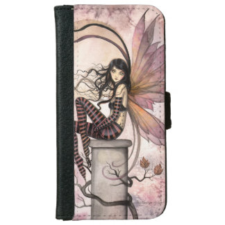 Autumn Fairy Fantasy Art Illustration Wallet Phone Case For iPhone 6/6s