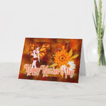 Autumn Fairy - Fantasy Mother's Day Card