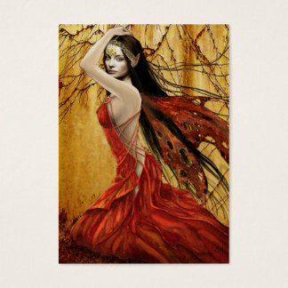 Autumn Fairy Gift Tag