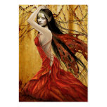 Autumn Fairy Gift Tag Large Business Cards (Pack Of 100)