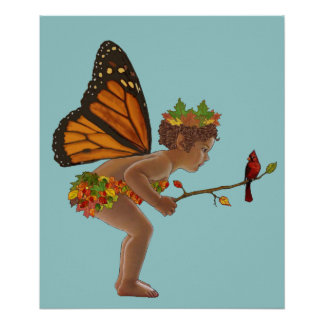 Autumn Fairy Posters