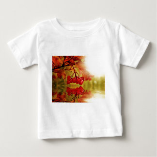 Autumn Fall Colorful Leaves Tree Leaf Park Forest Baby T-Shirt