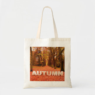 Autumn/Fall ECO Canvas Tote-Trees & Vibrant Leaves Tote Bag