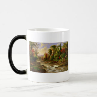 Autumn Fall Forest River Robert Duncanson Destiny Magic Mug