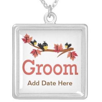 Autumn Groom Pendant