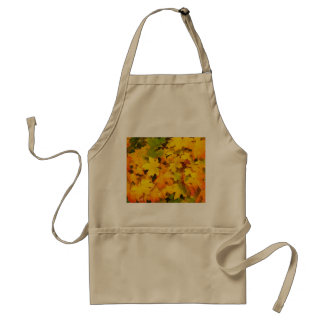 Autumn Fall Leaves Adult Apron