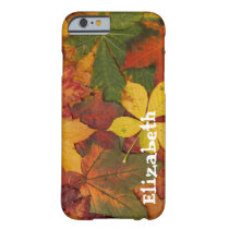 Autumn Fall Leaves Custom iPhone 6 case Cell Phone