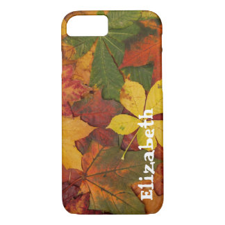 Autumn Fall Leaves Custom iPhone 7 case Cell Phone