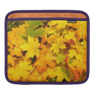 Autumn Fall Leaves iPad Sleeves
