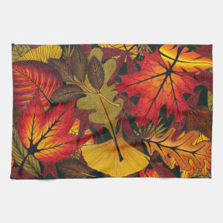 Autumn / Fall Leaves - Kitchen Towels