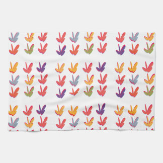Autumn Fall Leaves Kitchen Towels Hand Towels